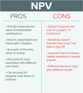 npv pros and cons