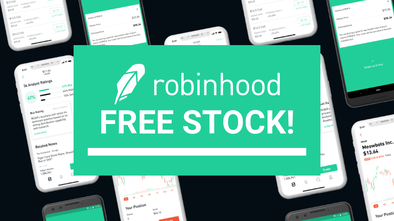Get Free Stock Robinhood