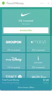 Acorns Found Money Partners
