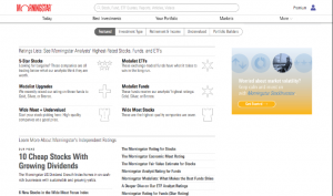 Morningstar Home Page