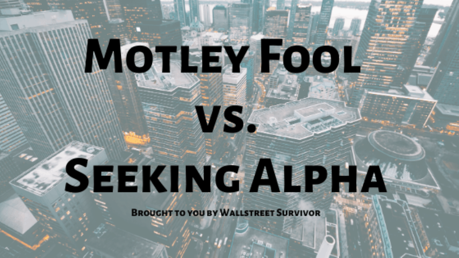 motley fool-seeking alpha