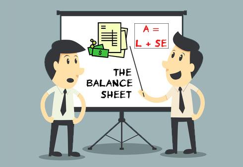read a balance sheet cartoon