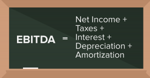 EBITDA equation