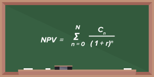 net present value equation
