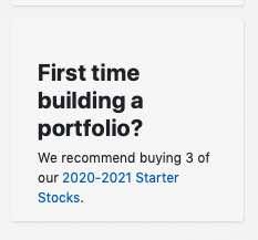 starter investors