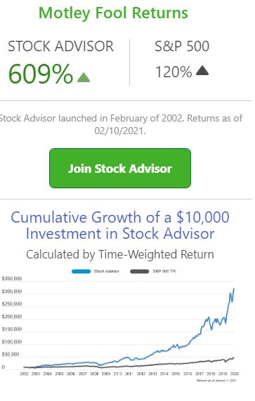 Motley Fool Stocks of 2021