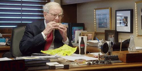 Warren Buffet Eating