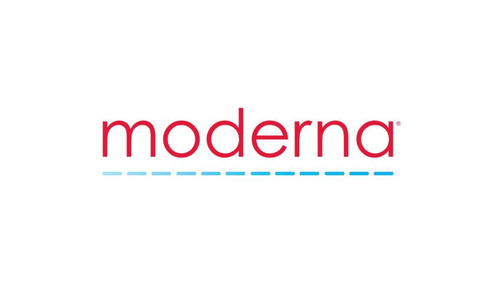 Pfizer Moderna Moderna Logo